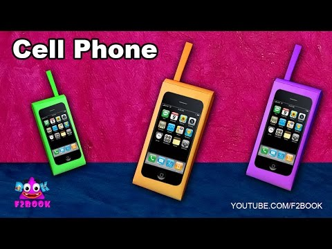 How to make a Paper Cell Phone Tutorial - Kids Funn Time Paper Toys