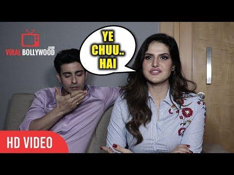 Ye Chuu...Hai Zareen Khan To Gautam Rode Funny Moment