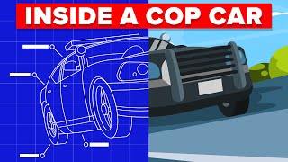 What Is Actually Inside a Police Car?