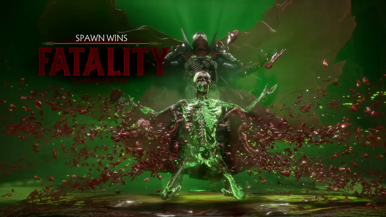 MK11 Spawn Unchained Fatality