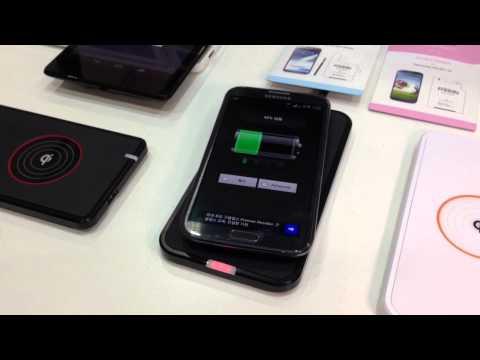 코마테크, 스마트폰용 무선 충전패드 'KWS 시리즈'