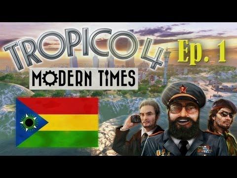 Tropico 4 - Modern Times (Sandbox) - Episode 1