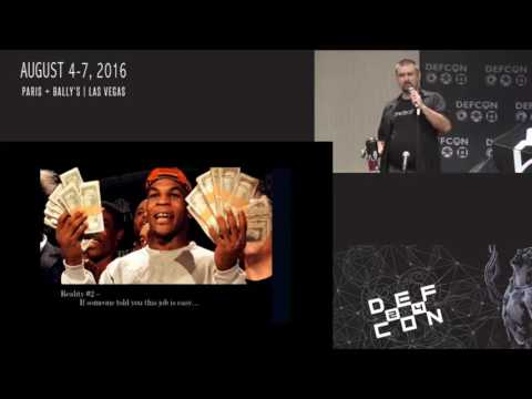 DEF CON 24 - So you think you want to be a penetration tester