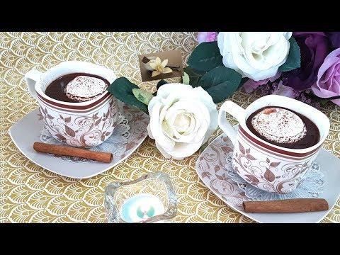Recette de Chocolat chaud maison/Homemade Hot Chocolate Recipe/طريقة تحضير مشروب الشكولاطة الساخنة