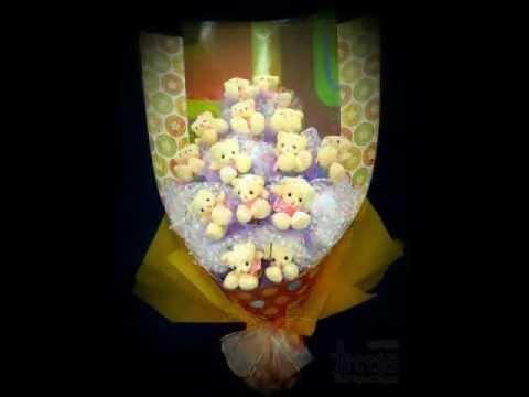 公仔花束递送服务 Soft Toys Bouquet Delivery.wmv