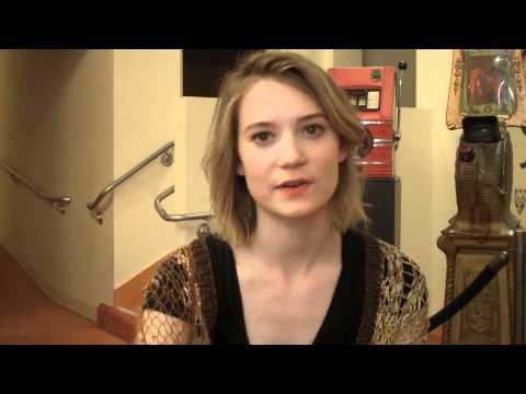 Mia Wasikowska Interview 1