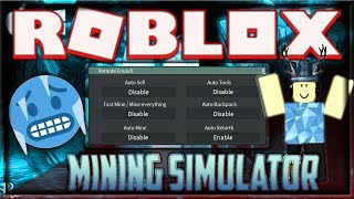 (WORKING) ROBLOX MINING SIMULATOR INFINITE REBIRTHS EXPLOIT, FREE INFINITE BACKPACK & MORE