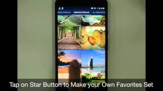 OGQ Backgrounds HD App Preview Video (Android)