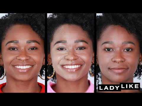 We Tried 6 Foundations With The Same Color Name Ladylike