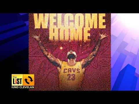 CLEVELAND: Celebrate LeBron Comeback With Your Cell Phone
