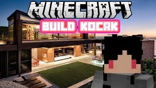 Minecraft Indonesia - Build Kocak (10) - Rumah Modern!