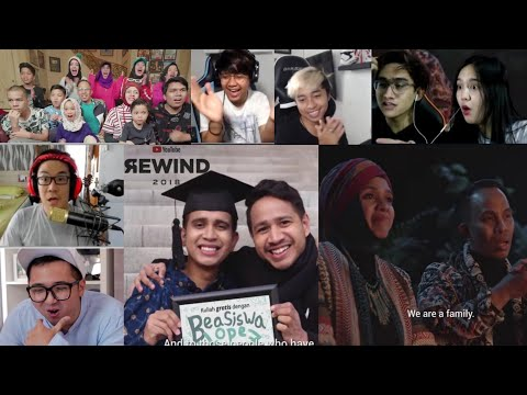 Reaksi Youtuber Melihat Youtuber Indo Di Youtube Rewind 2018 Mp3
