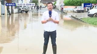 Le Duplex à Salies-De-Béarn pour les inondations