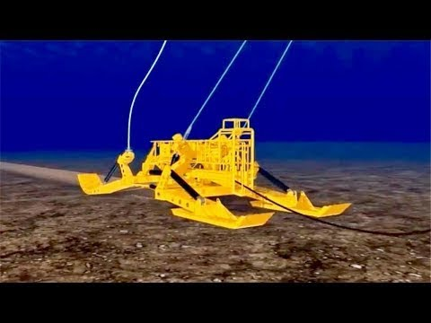 How undersea cables are laid