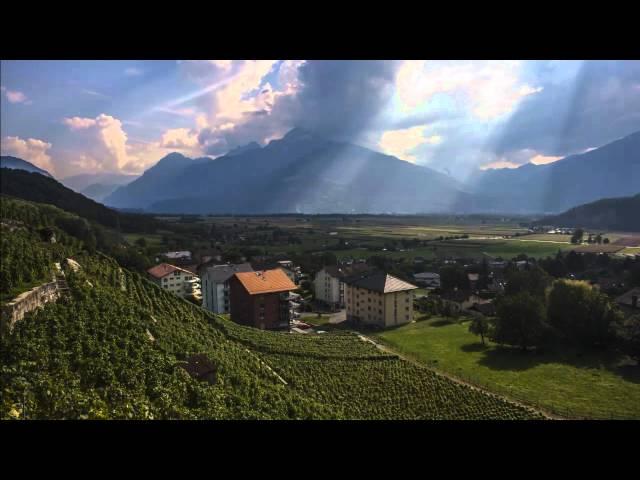 Switzerland Vineyard 2 Timelapse