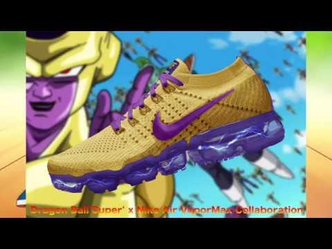 Dragon Ball Super x Nike Air VaporMax Collaboration
