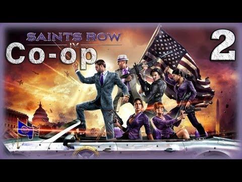 Смотреть прохождение игры [Coop] Saints Row IV. Серия 2 - Старые, добрые сороковые. [16+]