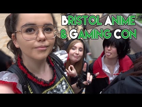 Bristol Anime And Gaming Con    Vlog