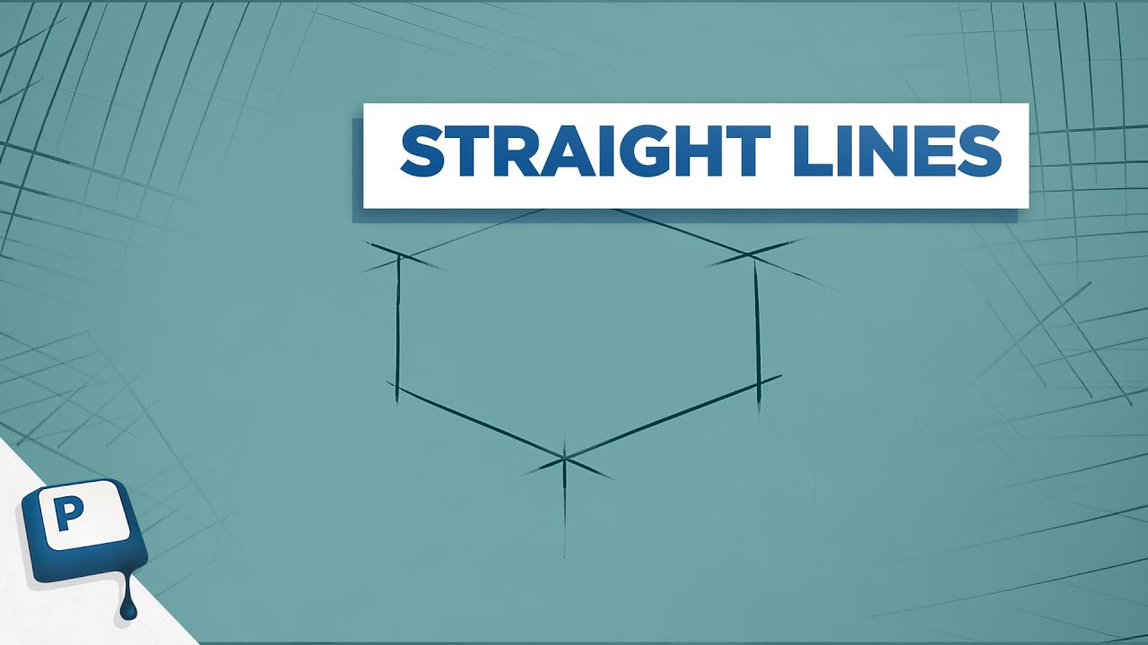 Drawing Straight Lines With Brush In Photo : Drawing straight lines in photoshop youtube