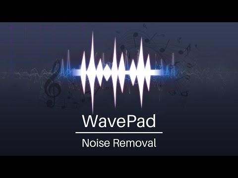 Best Noise Removal | WavePad Audio Editor Tutorial