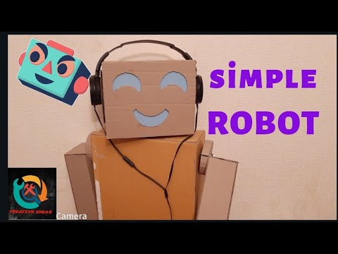 How to Make a Robot out of Cardboard (Very Simple )