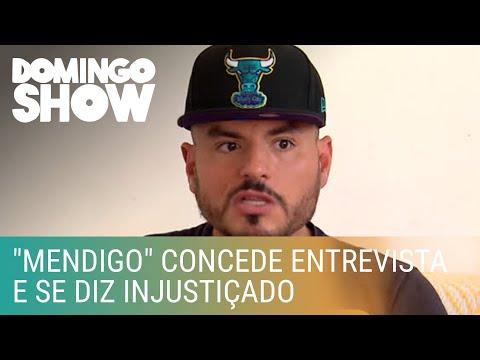 """Carlinhos """"Mendigo"""" concede entrevista e se diz injustiçado"""