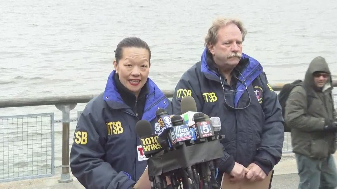 NTSB Briefs Reporters On Deadly Helicopter Crash