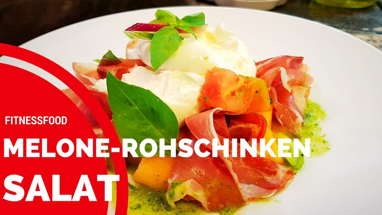 Melonen Mozzarella Salat First Youtube Clip Rezept