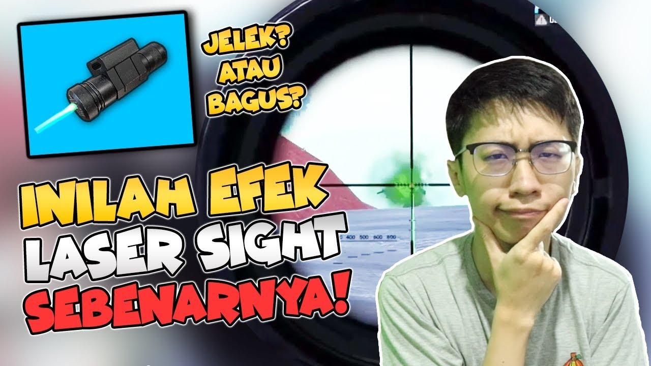 INILAH EFEK LASER SIGHT SEBENARNYA! - PUBG MOBILE INDONESIA