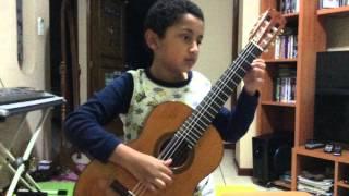 Lesson For two lutes, suzuki guitar book 4