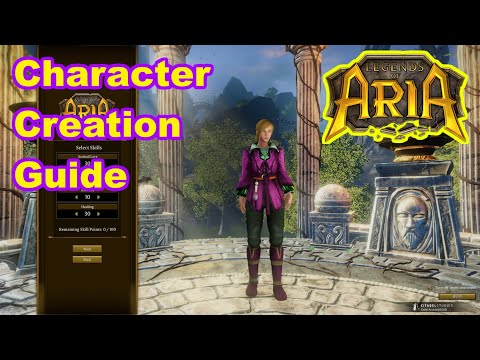 Character Creation - What Class Should You Play? - Legends Of Aria