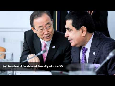 Tribute to H.E. Nassir Abdulaziz Al-Nasser, President of the 66th Session of the UN General Assembly