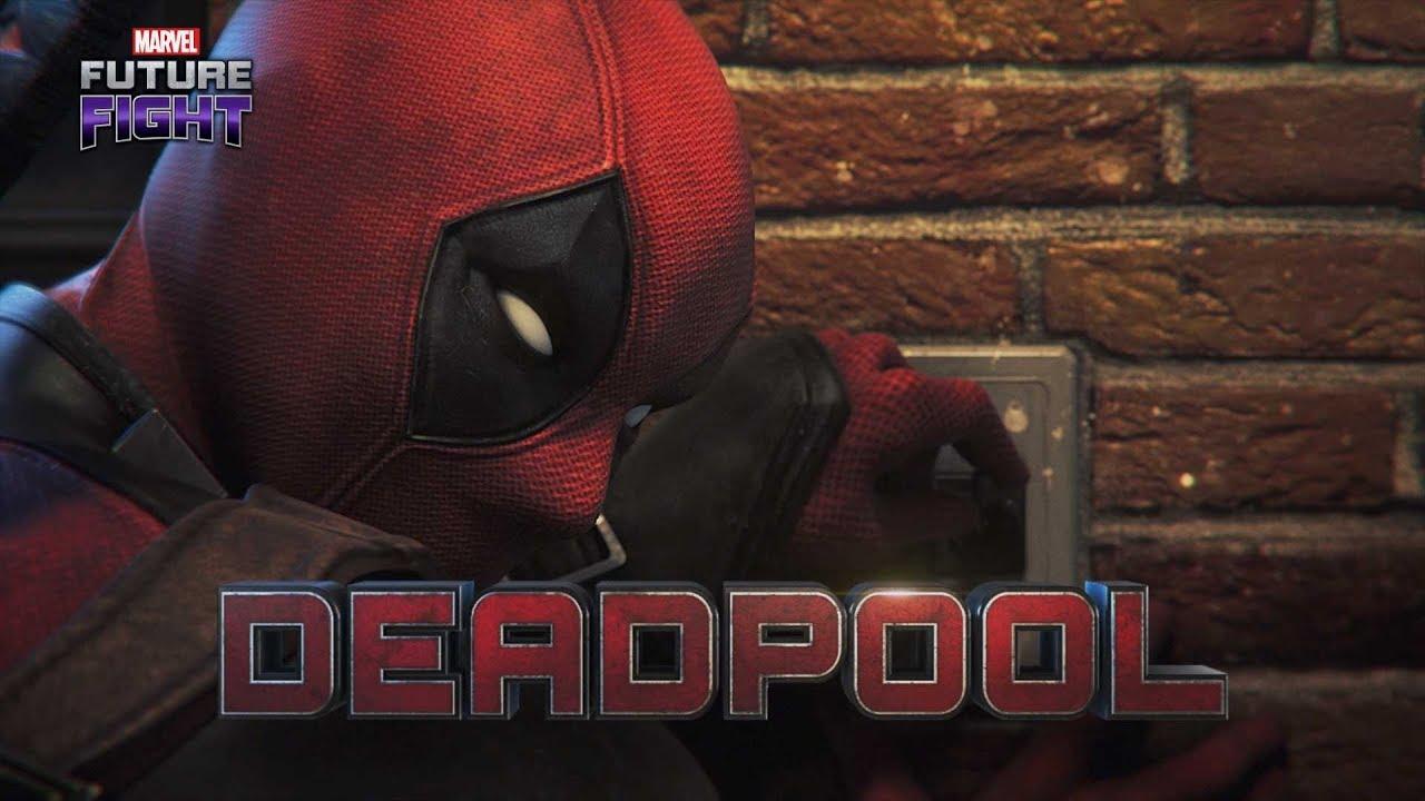 Marvel Future Fight Deadpool Here Youtube