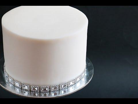 Sharp Edges On Fondant Cake Tutorial