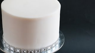 Sharp Edges On Fondant Cake Tutorial