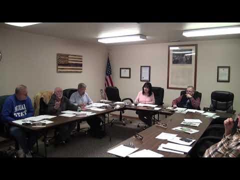 VILLAGE OF ARMADA COUNCIL MEETING (01-27-2020)