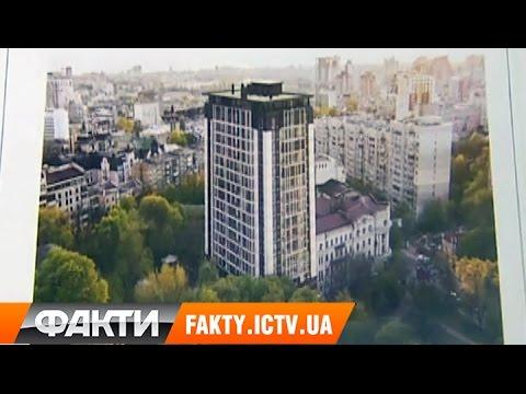 Скандальная застройка в Киеве: высотку возводят на месте исторического сквера