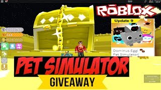 Roblox Pet Simulator Tier 17 Dominus RAINBOW Pet Giveaway live 🔴Doge is back