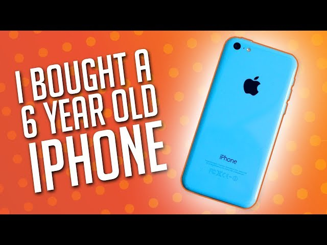 iPhone 5C - I Bought an iPhone 5C in 2019. Here's Why