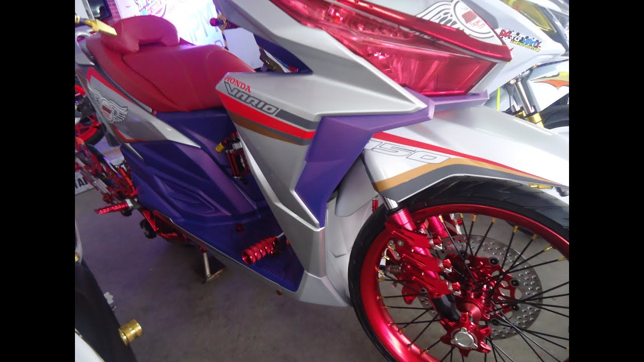 custom honda vario 150 modifikasi thailand look style full variasi
