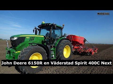 John Deere 6150 Väderstad Spirit 400C Next