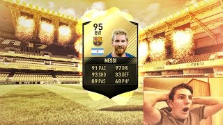 OMG! 95 INFORM MESSI IN PACKS! 😱(FIFA 17 TOTW 27 Pack Opening HUNT!)