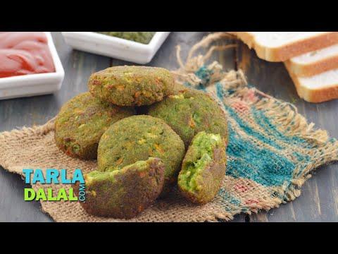 Crunchy Bread Cutlet by Tarla Dalal