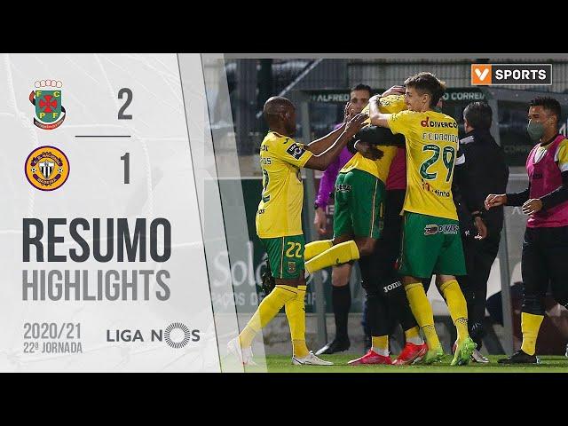 Highlights | Resumo: Paços de Ferreira 2-1 CD Nacional (Liga 20/21 #22)