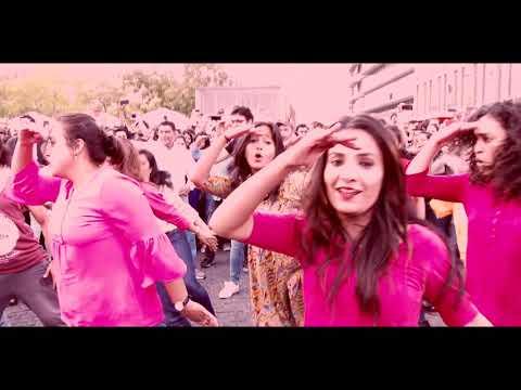 Flash mob dance by Frankfurt Indian scholars Association