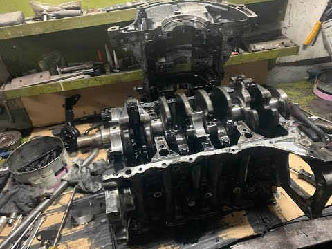 Это надо видеть Вскрытие Мотора  Citroen C4 Picasso 1.6 HDI 2012 год