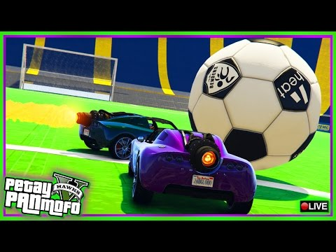 GTA Online Rocket League Capture - PC Custom Jobs Playlist (GTA V Jobs Links)