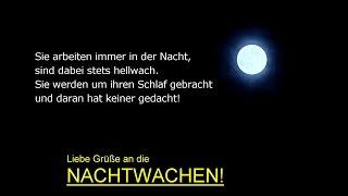 """Pflegeberuf: """"Ein Gedicht für die Nachtwachen"""" #1"""