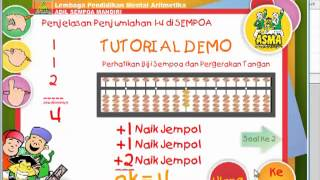Demo CD Software sempoa ASMA