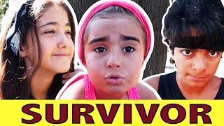 Mira Irmak Ege ile Survivor Yarışması    Eğlenceli Yarışma   UmiKids